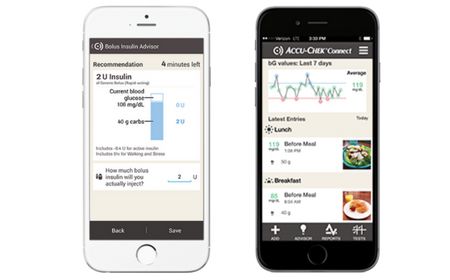 Accu Chek Connect app