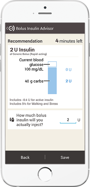 accu chek connect app bolus advisor